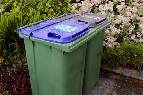 The recycling wheelie bins are fast becoming a common sight around Shetland.
