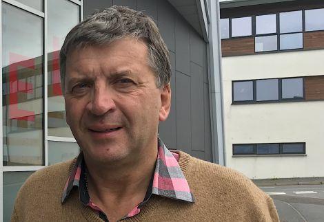 Shetland Space Centre founder Frank Strang.
