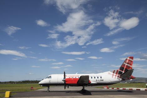 Loganair says contingency plans are being put in place for the strike days.