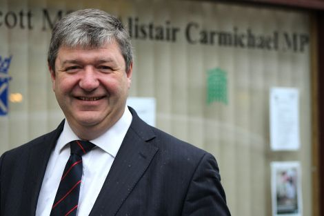 Orkney and Shetland MP Alistair Carmichael MP.