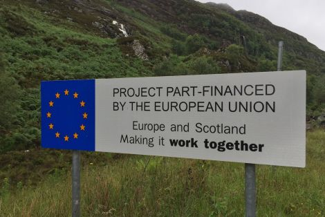 Brexit is set to hit the pockets of everyone living in Scotland, according to the People's Vote campaign. Photo: Shetland News