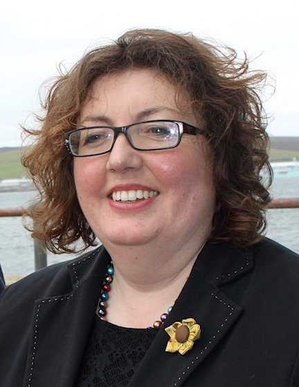 HIE area manager for Shetland, Rachel Hunter.