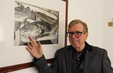 Timothy Spall at Mareel: 'You're almost creating a parallel universe when you're creating the movie'. Photo: Hans J Marter/Shetland News