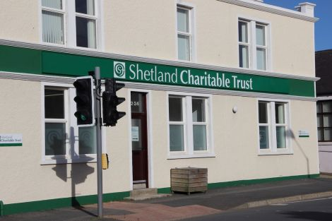 Shetland Charitable Trust headquarters at North Road. Photo: Shetland News