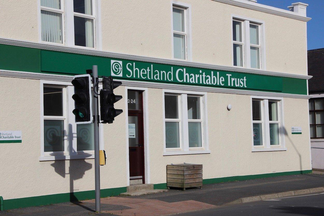 Shetland Charitable Trust headquarters at North Road. Photo: Shetland News