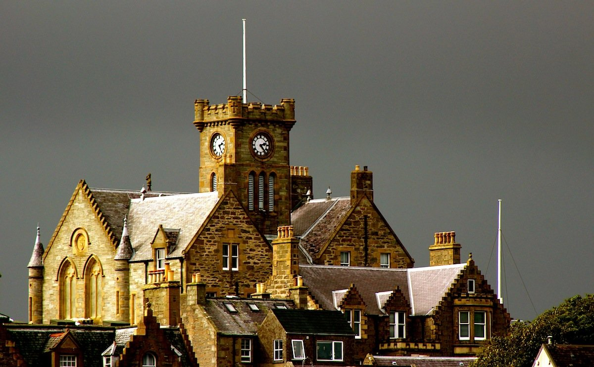 Lerwick Town Hall.