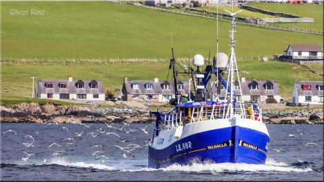 The old vessel has gone to Broadford.
